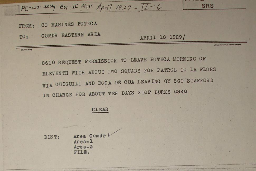 leave request template usmc  The Sandino Rebellion, 1927-1934